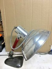 Vintage Industrial Machine Bench Desk (Heat Lamp) Lamp Light Steampunk workshop