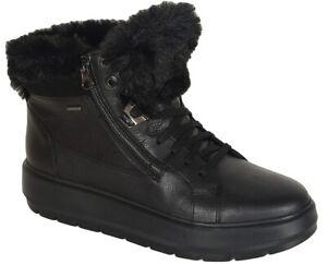 reduzierung Geox Kaula B sneakers ABX leather black