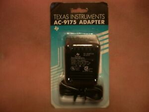 Texas Instruments AC-9175 Power Supply Adapter - 120V, 60Hz, 7W - New in Box