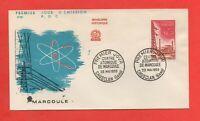 FDC - 1959 - Centre atomique de MARCOULE   (625)