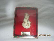 Christmas Pin Snowman Snowmen Xmas