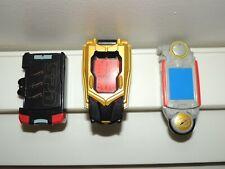 Power Rangers Morpher lot of three Spd Megaforce Robo Operation Overdrive