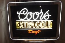 Vintage Coors Extra Gold Draft lighted Sign