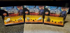 STAR WARS Micro Machine  SHADOWS OF THE EMPIRE Lot of 3