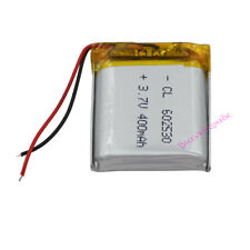 3.7V 400 mAh Polymer Li battery For Camera GPS Mp4 Toys Driving recorder 602530
