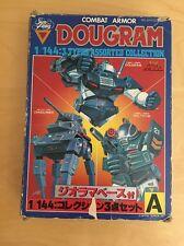 Dougram figure set Combat Armor Robotech Takara Macross 1/144 Scale