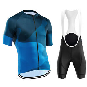 2021 Summer Men's Pro Team Cycling Jersey Sets Short Sleeve Bicycle Clothing