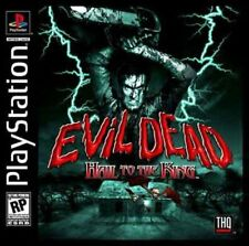 Evil Dead: Hail to the King (2000) Brand New Factory Sealed Playstation PS1