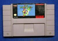 Super Mario World (Nintendo SNES, 1992)