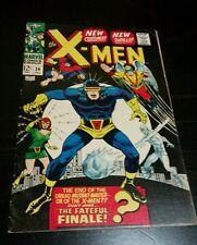X-Men #39 MARVEL 1967 X-Men Get New Costumes - Cyclops!!