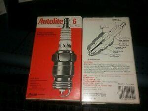 NOS  Autolite 766    Motorcraft   AWSF52   6 pack  Spark Plugs