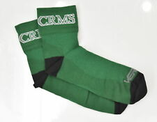 "Colorado Rocky Mountain School Large Cycling Socks 2 1/2"" Cuff Green New"