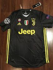 22680e693d2 Juventus 2018/19 Away Cristiano Ronaldo #7 Jersey size S Small Champions  League
