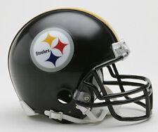 Pittsburgh Steelers NFL Licensed Riddell VSR4 Z2B Riddell Mini Football Helmetew