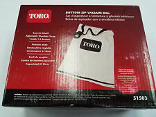 Genuine Toro 51503 Leaf Blower Vac Vacuum Replacement Bag 51601