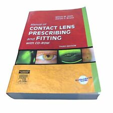 Manual of Contact Lens Prescribing and Fitting w Cd-Rom Milton M Hom Paperback