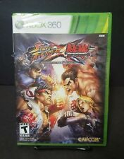 Street Fighter X Tekken (Microsoft Xbox 360, 2012) Brand New Sealed