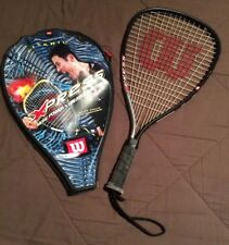 Wilson Xpress Racquetball Racquet with Case Racket Cliff Swain Titanium Xs 3 7/8