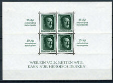 GERMANY 1937. REICH  HITLER BLOCK Mi.#9 MINT FULL ORIGINAL GUM LIGHT HINGED
