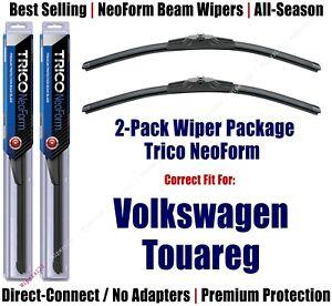 2-Pack Premium NeoForm Wipers fits 2011-2017 Volkswagen VW Touareg - 162412x2