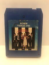 Vintage Blondie Paralell Lines 8 Track 1978 Chrisallis Records Debby Harry Nice