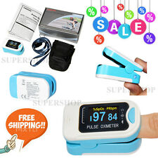 USA OLED Fingertip Pulse Oximeter Finger Blood Oxygen SpO2 PR Heart Rate Monitor