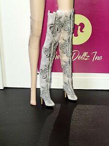 Mina Brides of Dracula Mizi JHDTOYS doll boots only