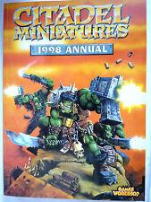 CITTADELLA Minatures catalogo 1998// WARHAMMER Games Workshop