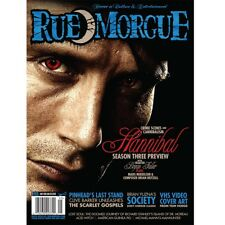 RUE MORGUE MAGAZINE #155 MAY 2015 Hannibal , Pinhead  Listed as RARE