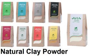 CLAY POWDER Humus 100 % Natural Anti Acne Dry Sensitive Oily Skin Avia 250g