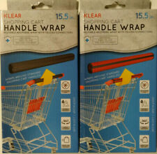 """B.O.G.O."" Klear Shopping Cart Handle Wraps *Germ Protection* *Reusable*"