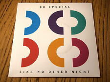 """38 SPECIAL - LIKE NO OTHER NIGHT    7"""" VINYL PS"""