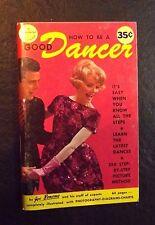 HOW TO BE A GOOD DANCER 1965 BY JOE BONOMO POCKET MANUAL #26 SOFT COVER
