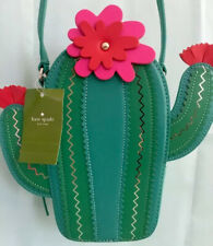 KATE SPADE NWT NEW HORIZONS CROSSBODY CACTUS PURSE BAG LIZARD GREEN LEATHER