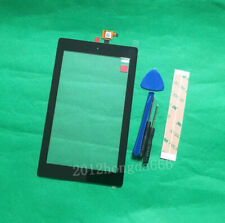 "For Amazon Kindle Fire 7 2019 7"" Black Digitizer Touch Screen Glass Replacement"