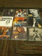 9 SHERYL CROW CDS ROCK/POP/COUNTRY ROCK