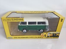 Rare Greenlight Hollywood 1978 Volkswagen Type 2 T2 Bus Green Machine Chase
