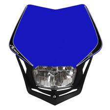 Race Tech V-Face Full LED Motorbike Universal Headlight Blue suit Husqvarna