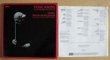 VERDI Messa Di Requiem TOSCANINI (The Man Behind The Legend) - 2LP