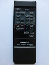 SHARP VCR REMOTE CONTROL G0412UM for VCA105HM VCT310HM