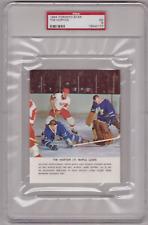 TIM HORTON 63/64 Toronto Star PSA 5 EX Graded Excellent Johnny Bower Maple Leafs