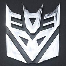 Decepticon Decal Transformer 3D Car Emblem Retro Bad Megatron Bot Robot 9cm NEW