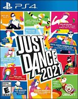 Just Dance 2021 Sony PlayStation 4 PS4 Game Sealed New