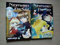 NIghtmares For Sale 1-2, Complete Shojo Manga Series, English, 16+, Kaoru Ohashi