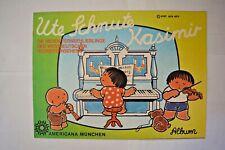 Americana Ute Schnute Kasimir Publicado 1979 / Álbum Vacío para 360 Pegatinas
