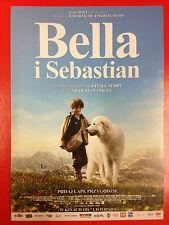 Félix Bossuet - Belle et Sébastien - Polish promo FLYER