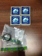 SUZUKI Sj410 413 SAMURAI Sierra Lj80 King Pin & Mezza Albero Guarnizioni Cuscinetti girevole