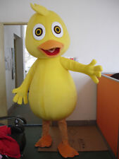 Yellow Chicken Chick School Animal Team Mascot Costume Adult size Suit Christmas