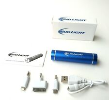 Bud Light Tube portable phone charger for iPad, iPhone, iPod, etc