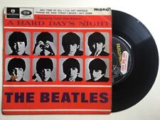 Beatles Extracts Hard Days Night Demo Promo Factory Sample Rare EP P/S 1964